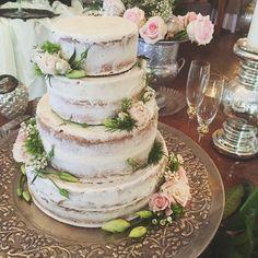Rustic cake idea from Sarah Christmus Pollard