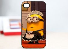 Despicable Me minion case Iphone case 4/4S/5 case best friend gift minion case mom's gift on Etsy, $12.78 CAD