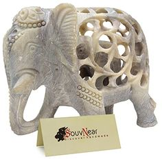 Find amazing Sale on Statue - Mom and Me - Mother Elephant with Baby Inside - 5 Inch Stone Elephant Decor Statue Impossible Hand-Carved Stone Art Sculpture Figurines/Centerpiece elephant gifts for your elephant lover. Mother's Day Special Gifts, Mother And Baby Elephant, Elephant Tattoo Design, Elephant Sculpture, Stone Statues, Elephant Figurines, Stone Sculpture, Animal Decor, Soapstone