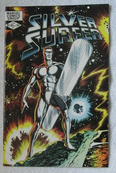 Silver Surfer #1 (1982, Marvel) John Byrne cvr VF 8.0