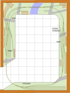 Ho Shelf Plan Train Layouts - Bing Images