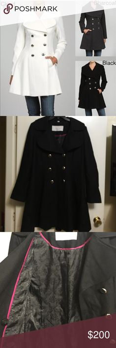 TODAY ONLY!!!Jessica Simpson coat Super super coat. This jacket is something you have to see in person to really appreciate it. Pictures don't do it justice. Great quality, and makes your waist look great. Sold out online! Jessica Simpson Jackets & Coats Pea Coats