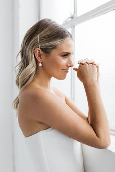 Split Personality Designs Modern Mint Green Blue Silver Statement Bridal Earrings Fan Dance