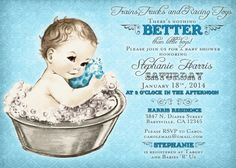 Coed Baby Shower Invitations Luxury Coed Baby Shower Invitation for Boy Vintage Baby Shower Coed Baby Shower Invitations, Baby Shower Invitaciones, Baby Shower Invites For Girl, Baby Boy Shower, Baby Shower Vintage, Tea Party Baby Shower, Trendy Baby, New Baby Products, Trust