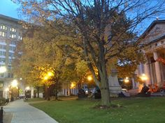 Autumn morning at the County Courthouse. Ramblin' with AM