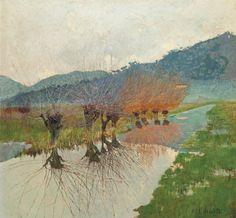 Salice sul canal - Francesco Fanelli