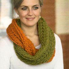 infinity scarf knitting pattern | NobleKnits Knitting Blog: Free Infinity Scarf Pattern featuring ...