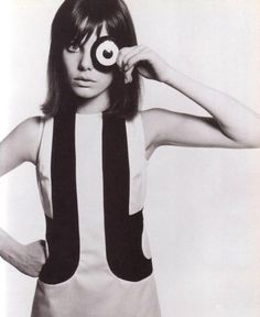Jane Birkin by David Bailey Vogue 1965