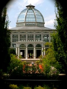 Beautiful conservatory at Lewis Ginter in Richmond Virginia. The have one of my favorite garden shops.    Photo by Vanessa Crews