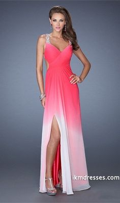 http://www.ikmdresses.com/2014-Pleated-Bodice-Backless-Beaded-Straps-A-Line-Chiffon-Prom-Dress-Gradient-Color-p85126