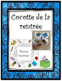 La cocotte en papier est une activité idéale pour la rentrée scolaire. Ce jeu amusant permet de travailler la conscience phonologique, la communication orale, le vocabulaire en plus d'aider les élèves à apprendre à se connaitre.