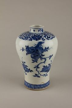Vase Qing Dynasty Kangxi Period. The Metropolitan Museum of Art.