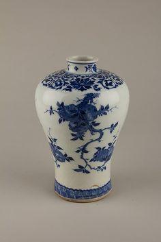 Vase Qing Dynasty Kangxi Period. The Metropolitan Museum of Art.