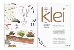 2 voor 12 Magazine - 'Pieterpad' (Hiking route) - by Studio Het Paradijs