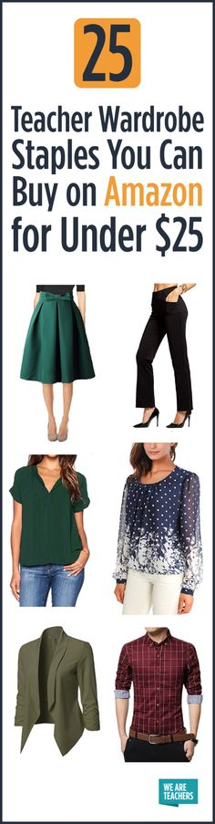 554ae702c43 25 Teacher Wardrobe Staples You Can Buy on Amazon for Under  30