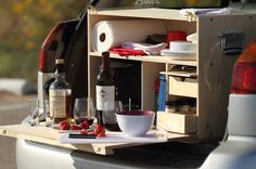 My Camp Kitchen packs a full wilderness kitchen in a box - Images - via http://bit.ly/epinner