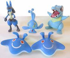 "Gacha Pokemon Series 3 Fun Figure Charm 1/"" Manaphy"