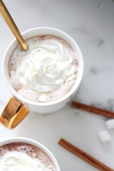 A Christmas Recipe For Peppermint Hot Chocolate