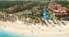 At the all-inclusive Majestic Colonial in Punta Cana, Dominican Republic, you have access to the beach and the 1,300-foot-long pool, plus meals and drinks at the eight restaurants and nine bars for only 150 dollars per person, per night, (Courtesy Majestic Colonial)