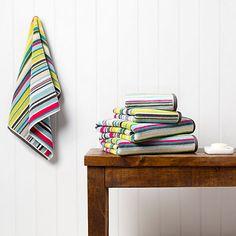 Buy Harlequin Barcode Towels Online at johnlewis.com