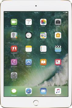 Apple - iPad mini 4 Wi-Fi + Cellular 32GB - Verizon Wireless - Gold