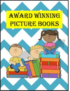 Caldecott Award Winning Picture Books.  The Caldecott Award is given annually by the American Library Association to the artist of the most distinguished American picture book for children.  This prestigious award is one that writers look forward to in recognition of their hard work and love for children.  For 2013 the award goes to...........     drum roll......