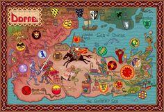 Mapas en Cancion de Hielo y Fuego - Taringa!