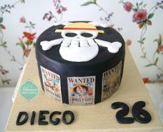One piece Cake - Luffy
