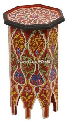 Dari Hand Painted Side Table, Red Casablanca Market,http://www.amazon.com/dp/B0070CGOEW/ref=cm_sw_r_pi_dp_Uwh7sb0Z1CN92M0P