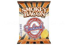 Seabrook Smokey Bacon crisps.