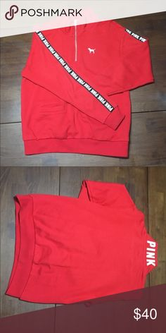 VS PINK sweatshirt NWOT Victoria's Secret pink sweatshirt. PINK Victoria's Secret Tops Sweatshirts & Hoodies