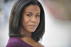 This is Crazy Eyes in real life (actress Uzo Aduba).