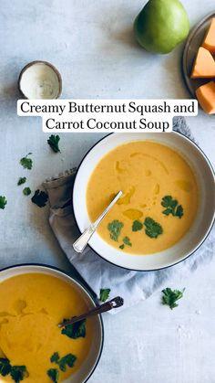 Healthy Soup Recipes, Vegetarian Recipes, Cooking Recipes, Salad Recipes, Orzo Recipes, Heathy Soup, Blended Soup Recipes, Summer Soup Recipes, Creamy Soup Recipes
