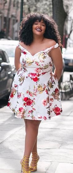 40 Curvy Spring Outfits You Can Copy Right Now Outfits Plus Size, Curvy Outfits, Plus Size Dresses, Fashion Outfits, Fashion Ideas, Short Dresses, Fashion Trends, Look Plus Size, Curvy Plus Size