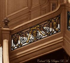 Olympic and Titanic staircase detail