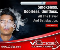 V2 Cigs - Smokeless. Odorless. Guiltless. All The Flavor and Satisfaction.