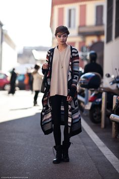 love the sweater.