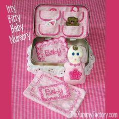 Itty Bitty Baby Nursery. Will fit 4x4 (10X10) machines.