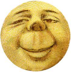 Vintage Moon Man Image >>>omg he cracks me UP!!!!!!