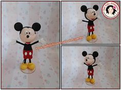 Fabi Felix Artesanato: Topo de bolo Mickey