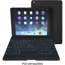 I think this is the keyboard case I'll buy for my ipad air - I love the lightup key option...