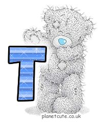 Planet Cute - Alphabet - Tatty Teddy - Image
