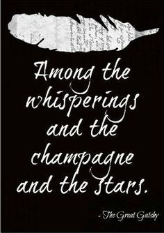 My favorite quote from The Great Gatsby