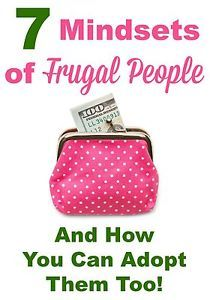 Have you ever wanted to be a frugal person, but just thought it wasn't something your personality could ever embrace? Well, I'm here to tell you that being frugal is a mindset, and it is something anyone...