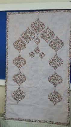 Seccade Muslim Prayer Mat, Prayer Rug, Patchwork Quilt Patterns, Applique Quilts, Trousseau Packing, Islamic Patterns, Bargello, Couture, Needlepoint