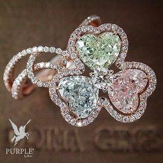 Check this treasure! This most gorgeous flower of pink green and blue diamonds by @mew_primagems via @jewelryjournal #purplebyanki #diamonds #luxury #loveit #jewelry #jewelrygram #jewelrydesigner #love #jewelrydesign #finejewelry #luxurylifestyle #instagood #follow #instadaily #lovely #me #beautiful #loveofmylife #dubai #dubaifashion #dubailife #mydubai #flower #ring #pink #green #blue