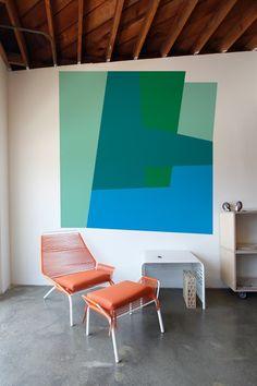 Color Block Slant  Mina Javid  whatisblik.com