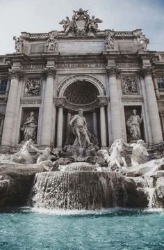 """- List of Top Rome Landmarks to help you experience Italy Visiting Rome? - List of Top Rome Landmarks to help you experience Italy,details envyavenue: """"Trevi Fountain """" aesthetic travel italy inspo places Art Et Architecture, Beautiful Architecture, Italy Places To Visit, Trevi Fountain, Photos Voyages, Renaissance Art, Aesthetic Wallpapers, Beautiful Places, Around The Worlds"""