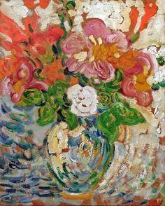 'Fleurs dans un vase', c.1905 - Louis Valtat