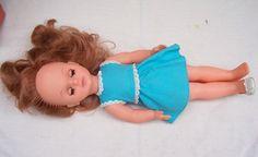 "Vintage Sebino Cora 14"" Doll Made In Italy - Old Shop Stock | eBay"